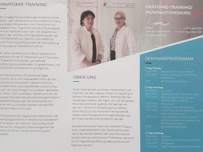 Anatomietraining Praeparationskurs 2020